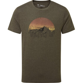 tentree Vintage Sunset T-Shirt Men, Oliva